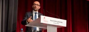 Thierry Beaudet, le nouveau président de la Mutualité Française, à l'assemblée générale